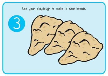 Bread Playdough Mats