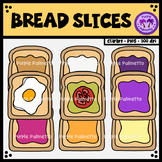 Bread/Toast Slices Clipart