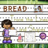 Bread Tracing Lines and Shapes