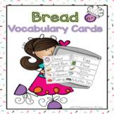 Bread Vocabulary Cards