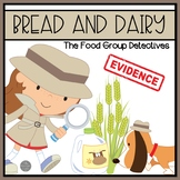 Bread and Dairy Group Set of Emergent Readers and Sorting Activities