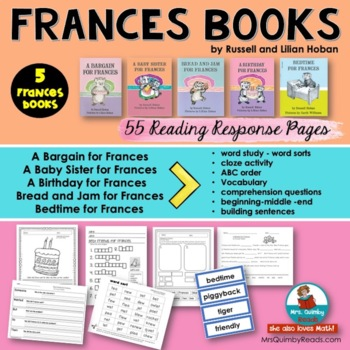 Frances Books | Literacy and Word Study | [Children's Literature]
