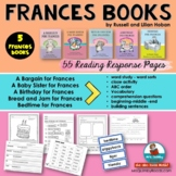 Literacy and Word Work- Frances Books by Russell Hoban - [