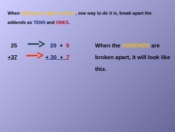 Break Apart Addends