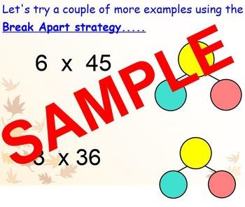 Break Apart Multiplication