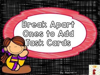 Break Apart Ones to Add Task Cards
