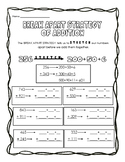 Break Apart Strategy for Addition