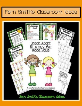 3rd Grade Go Math Lesson 1.6 Break Apart Strategy for Place Value Bundle