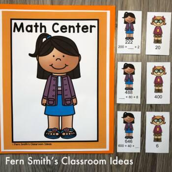 3rd Grade Go Math Lesson 1.6 Break Apart Strategy for Place Value Bundle
