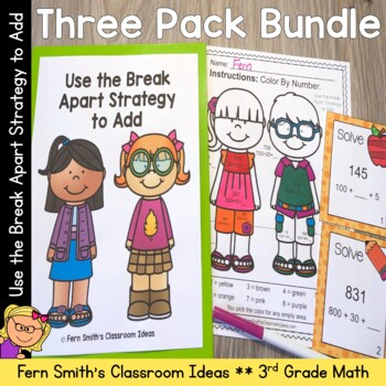 Break Apart Strategy for Place Value Bundle