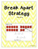 Break Apart Subtraction Strategy