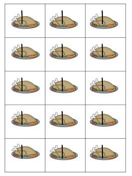 Break Apart Thanksgiving Dinner