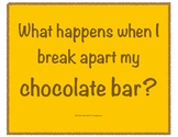 Break Apart and Decompose Activity - Chocolate Bars