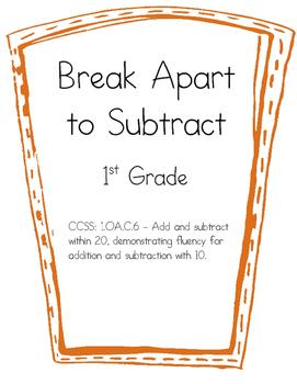Break Apart to Subtract