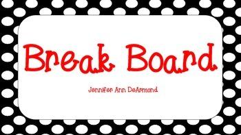 Break Board