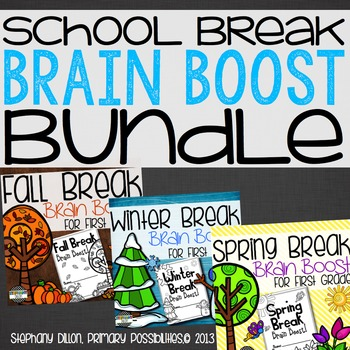 Break Brain Boost Bundle for First Grade!