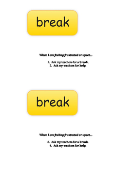 Break Card