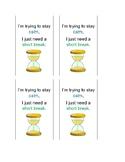 Break Card, Behavior Resource