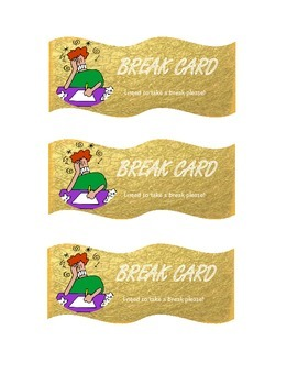 Break Cards