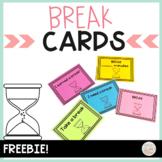 Break Cards