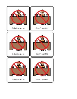 Break Cards for Special Education