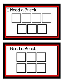 Break Cards with Visuals