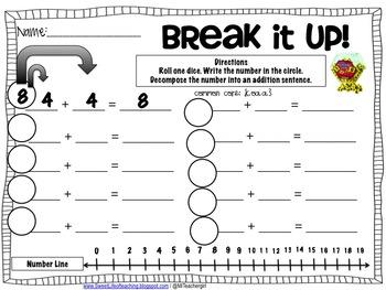 Break It Up Decomposing Numbers