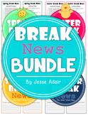 Break News Bundle: Journal Prompts For Spring, Easter, Sum