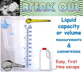 Break Out: Easy first time Liquid Capacity escape room