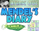 Break Out: Mendel's diary escape room project