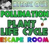 Break Out: Pollination plant life cycle escape room