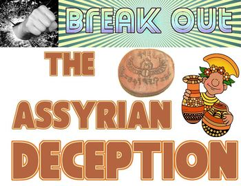 Break Out: The Assyrian Deception escape room freebie