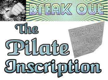 Break Out: The Pilate Inscription escape room freebie