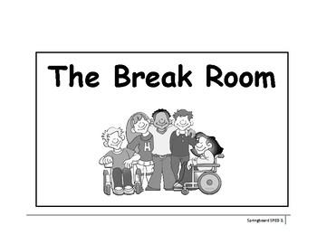 Break Room (break area) Visual Support Kit