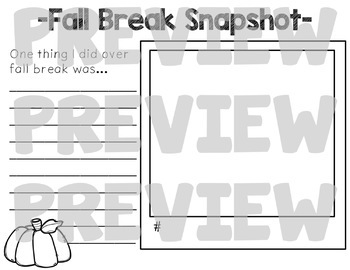 Break Snaps BUNDLE {Fall, Winter, Spring and Summer Included!}