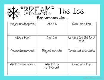 Break The Ice -- Winter Edition ICE BREAKER