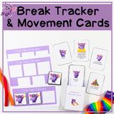 Break Tracker & Break Card   Give students the breaks they