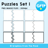 Puzzle Cards Set 1 - Break Up Card Graphics