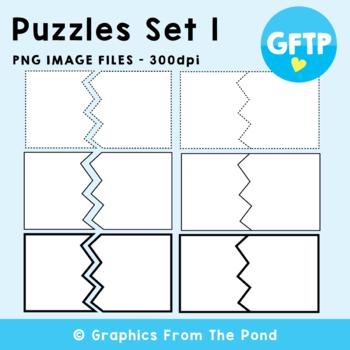 Puzzle Cards Set 1 - Break Up Card Graphics
