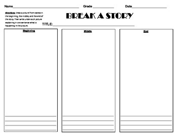 Break a Story (Beg, Mid, End)