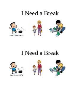 Break card visual