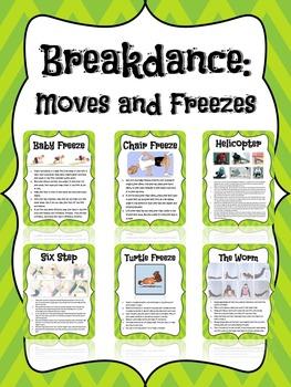 Break-dance Task Cards