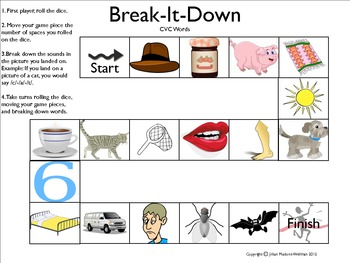 Break-it-Down: CVC WORD GAME