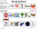 Break-it-Down/Word Segmenting: BLENDS GAME