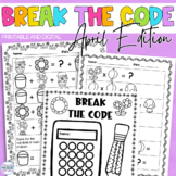 Break the Code | April