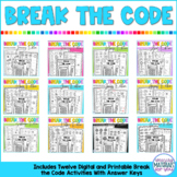 Break the Code | BUNDLE