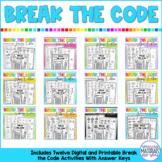 Break the Code   BUNDLE