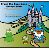 Escape Room (The Frog Prince)-2nd Grade Math Computation & Word Problems