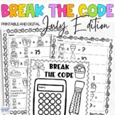 Break the Code | July