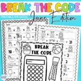 Break the Code   June